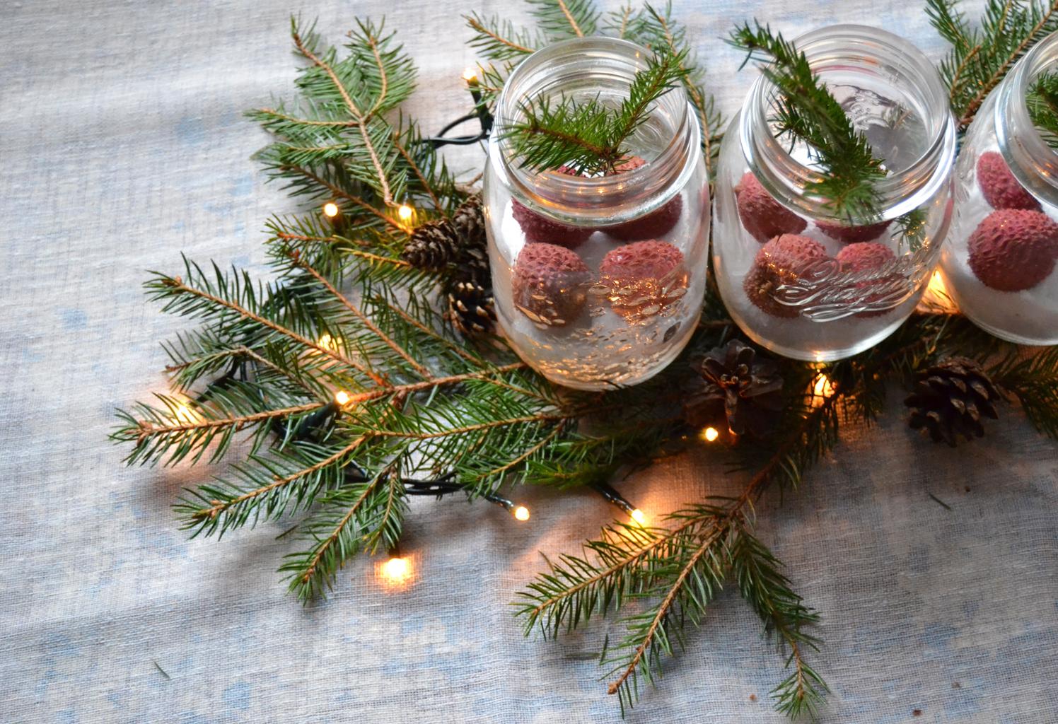 Centrotavola natalizi tre idee per realizzarli con frutta - Centrotavola natalizio idee ...