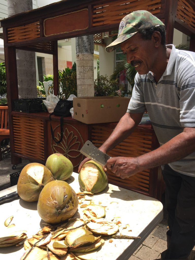 the coconut man