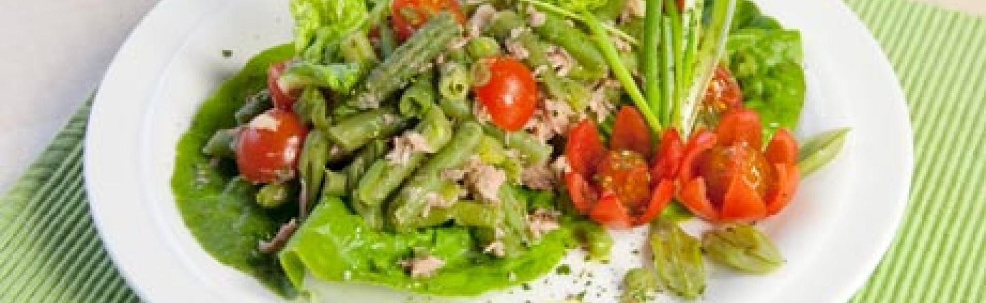 tomaten bohnen salat love my salad. Black Bedroom Furniture Sets. Home Design Ideas