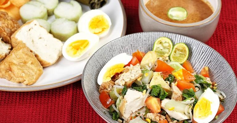 Gado Gado Javanese Salad From Bondowoso Love My Salad