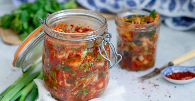 Homemade Kimchi | Love my Salad