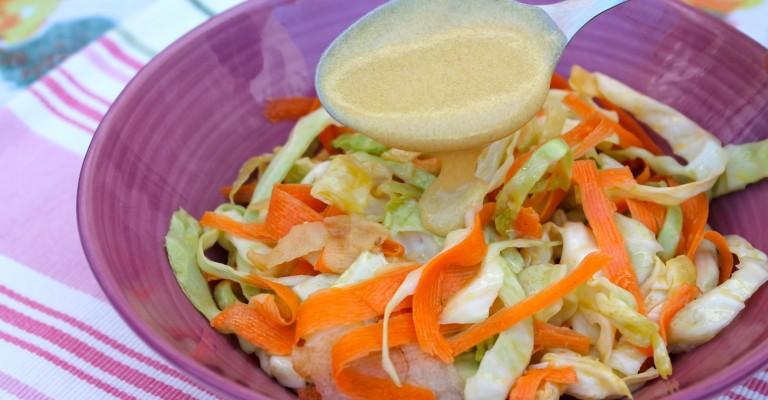 Ensalada De Col Zanahoria Y Manzana Love My Salad Ingredientes 1 repollo pequeño 4 zanahorias 100 g de rábanos 80 g de miel 500 g de mayonesa 50 g de mostaza zumo de limón sal y pimienta al gusto. ensalada de col zanahoria y manzana