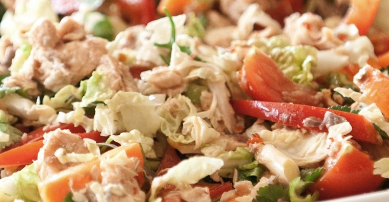 Ensalada Thai De Salmón Love My Salad