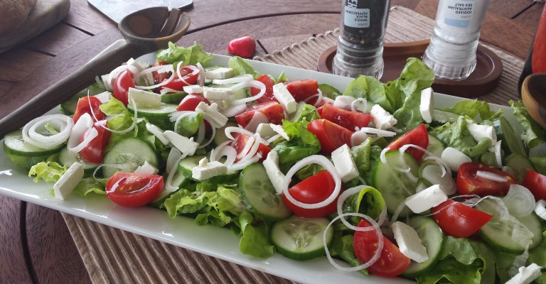 Tomato Lettuce And Cucumber Salad Classic Tlc Salad Love My Salad