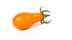 Gelbe, birnenförmige Mini-Tomate