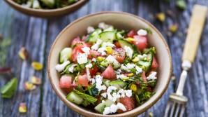 Salades met fruit