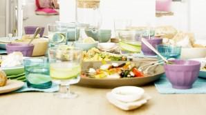 Desayunando ensaladas