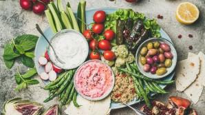 Healthy snack platters