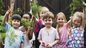 The importance of eating vegetables: invest in your child's eating habits.