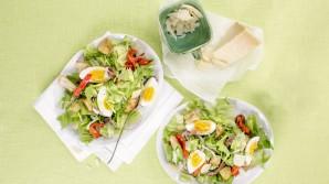 Hızlı ve kolay salatalar