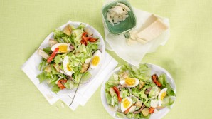 Saladas simples e rapidas