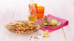 Salades met Peruaanse ingrediënten