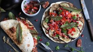 Vegetarische gerechten met groente