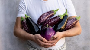 A nation divided? Young shoppers embrace aubergines.