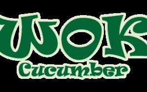 Asian wok cucumber
