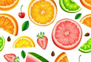Share a fresh fruit platter and enjoy time together