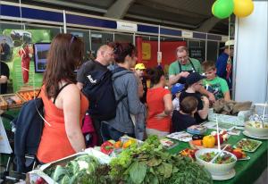 Love my Salad参与英格兰约克郡农展