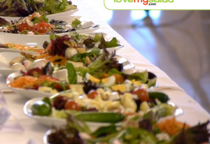 First love my salad event in Spain big succes