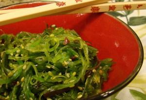 El uso de algas en la cocina