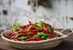 Cómo conservar los pimientos picantes