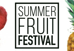 Summer fruits festival, Darling Harbour, Sydney, October, 2016