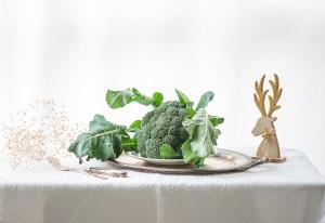 Engalana tu mesa con verduras esta Navidad