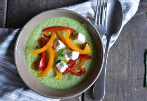 Le Gazpacho, la soupe froide qui permet de consommer les légumes crus en été!