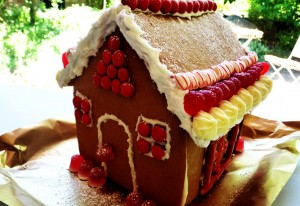 Help Louise to meet the ginger bread house challenge