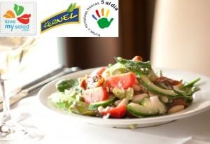 Patrocinamos las ensaladas de 5 al día en Fruit Attraction 2015