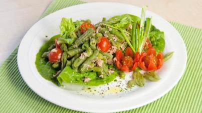 Tomaten-Bohnen-Salat