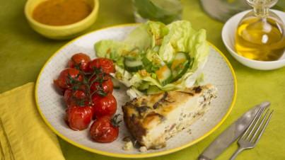 Tortilla mexicaine aux légumes