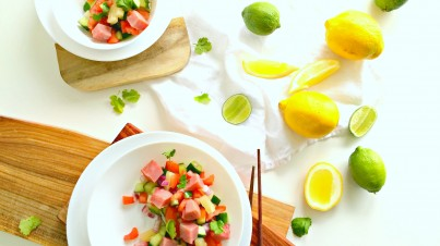 Ceviche salade