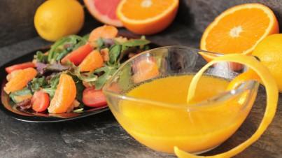 Delicious citrus vinaigrette