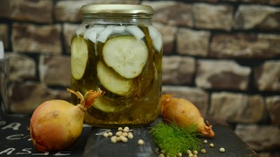 Cucumber pickles