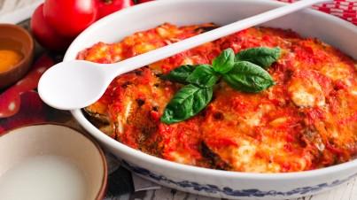 20 minute eggplant parmigiana