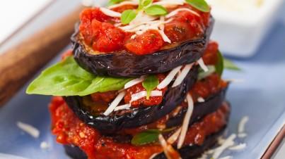 Eggplant turrets