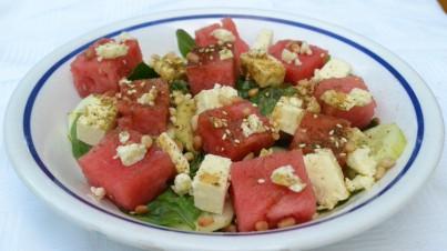 Wassermelonensalat mit Feta