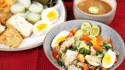 Gado Gado Javanese salad from Bondowoso