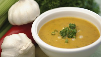 Rogerova česneková polévka