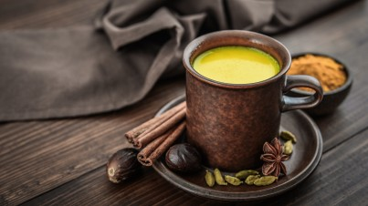 Golden turmeric cinnamon milk