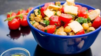 Kikkererwten Za'tar Salade