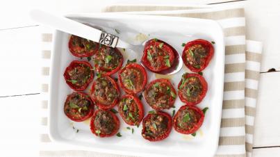Výborná domácí pečená rajčata