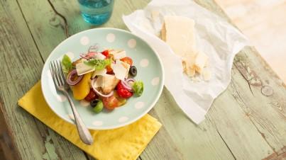 Panzanella - Tuscan tomato and bread salad