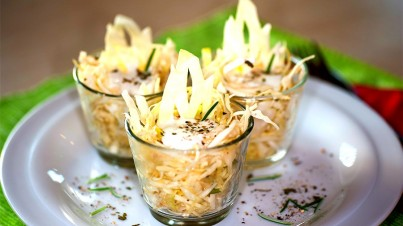 Pointed cabbage cocktail