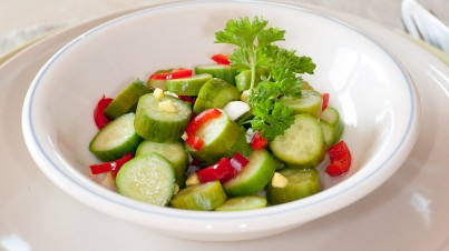 Snack Cucumber Salad