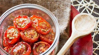 Slow Roasted Vine Ripened Tomatoes