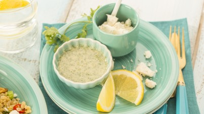 Indian Spiced Yogurt Dressing
