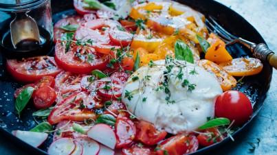 Salade caprese deluxe
