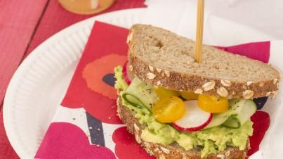 Un sandwich salade en 5 minutes chrono