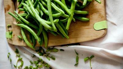 Salade de pâtes aux haricots verts